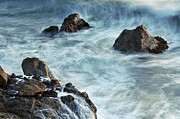 Tidal Forces Prints - Earth Meets The Sea Print by Scott Lenhart