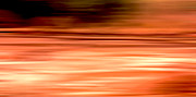 Burnt Digital Art - Earth motion burnt orange by Linsey Williams