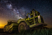 Long Exposure Art - Earth Mover by Aaron J Groen