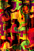 Intense Colors Prints - Earthy Abstract Print by Andee Photography