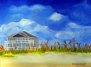 Ocean Paintings - East 2nd Street by Shelia Kempf