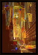Pan Am Framed Prints - East 45th Street - AFTER Framed Print by Miriam Danar