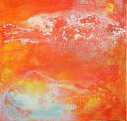 Astratto Mixed Media - East End Sunset by Anahi DeCanio