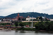 Ohio River Landscapes Posters - East Liverpool Ohio 2 Poster by Michelle Joseph-Long