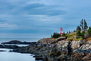 East Quoddy Lighthouse Photo Framed Prints - East Quoddy Head Lighthouse 3093 Framed Print by Paul Reeves