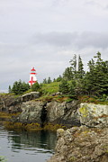 Habor Prints - East Quoddy Lighthouse - Campobello Island Print by Christiane Schulze