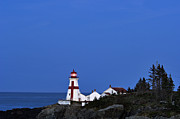 East Quoddy Lighthouse - D002160 Print by Daniel Dempster