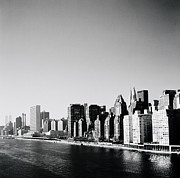Future Of Society Metal Prints - East River New York Metal Print by Shaun Higson