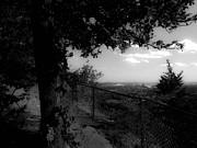Stephen Melcher - East Rock Black and White
