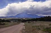 East Spanish Peak Storm Print by Samantha Jerred