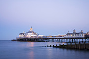 Breakwater Prints - Eastbourne Pier at Twilight Print by Colin and Linda McKie
