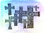 Crucify Metal Prints - Easter Metal Print by Bill Cannon