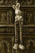 Easter Bunny From The Past Print by Gynt