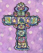 Jen Norton - Easter Cross on Orchid