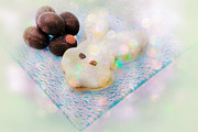 Cookie Prints - Easter Treats Print by Charline Xia