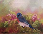 Laura Brown - Eastern Bluebird