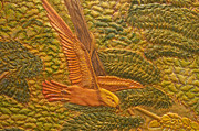 Eastern Meadowlark Print by James McGarry Leather Artist