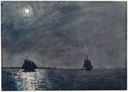Eastern Point Paintings - Eastern Point Lighthouse by Winslow Homer