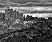 Ragged Peaks Prints - Eastern Sierras Summer Storm 2 Print by Terry Garvin