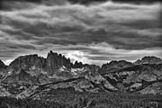 Ragged Peaks Prints - Eastern Sierras Summer Storm Print by Terry Garvin