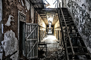 Eastern State Penitentiary In Ruins Print by Bill Cannon