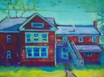 Saturated Paintings - Easthampton AM by Caleb Colon