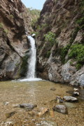 Gabriel Photo Posters - Eaton Canyon Waterfall Poster by Viktor Savchenko