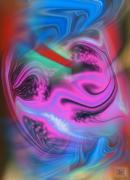 Anger Digital Art - Eclectic by Kelly McManus