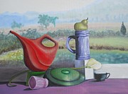 Scott Phillips Art - Eclectic Still Life by Scott Phillips