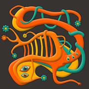 Ectoplasm Print by Jazzberry Blue