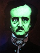 Edgar Allan Poe Paintings - Ed2 by Justin Coffman
