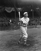 Eddie Collins Sr. Swing Pre Game Print by Retro Images Archive