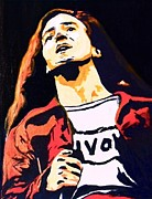 Eddie Vedder Paintings - Eddie by Rogerio Zgiet