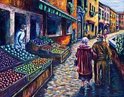 Fruit Stand Paintings - Eden Exodus and Eternity  by Kevin Richard