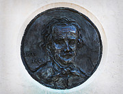 Maryland Art - Edgar Allen Poe 1809 - 1849 by Bill Cannon