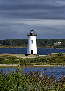 Massachusettes Prints - Edgartown Lighthouse Print by John Greim