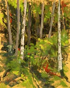 Washington Pastels - Edge of the Woods by Mary McInnis