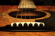 All - Edgy Abstract Eclectic Guitar 10 by Andee Photography