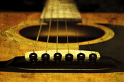 All - Edgy Abstract Eclectic Guitar 11 by Andee Photography