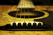 All - Edgy Abstract Eclectic Guitar 12 by Andee Photography