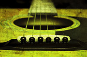 All - Edgy Abstract Eclectic Guitar 13 by Andee Photography