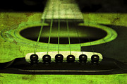 All - Edgy Abstract Eclectic Guitar 14 by Andee Photography