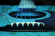 All - Edgy Abstract Eclectic Guitar 16 by Andee Photography