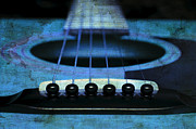 All - Edgy Abstract Eclectic Guitar 17 by Andee Photography