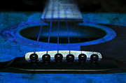 All - Edgy Abstract Eclectic Guitar 18 by Andee Photography