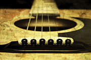 All - Edgy Abstract Eclectic Guitar 19 by Andee Photography