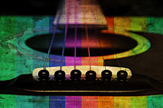 All - Edgy Abstract Eclectic Guitar 20 by Andee Photography