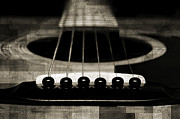 All - Edgy Abstract Eclectic Guitar 25 by Andee Photography