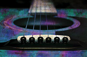 All - Edgy Abstract Eclectic Guitar 26 by Andee Photography