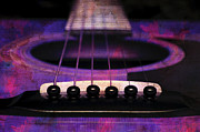 All - Edgy Abstract Eclectic Guitar 27 by Andee Photography